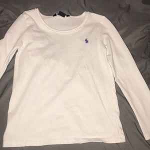 Girl's size 6x Ralph Lauren Long Sleeve shirt